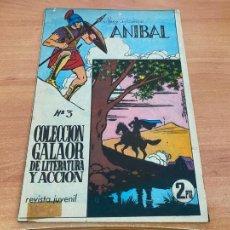 Tebeos: ANIBAL Nº 3 (ORIGINAL GALAOR) (COIB61). Lote 267654539