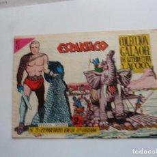 Tebeos: ESPARTACO Nº 3 GALAOR ORIGINAL. Lote 268758684