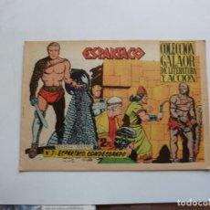 Tebeos: ESPARTACO Nº 7 GALAOR ORIGINAL. Lote 268759344