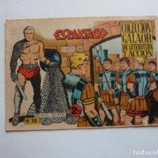 Tebeos: ESPARTACO Nº 10 GALAOR ORIGINAL. Lote 268759794