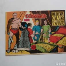Livros de Banda Desenhada: ESPARTACO Nº 21 GALAOR ORIGINAL. Lote 268761494