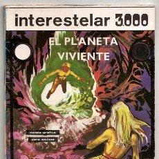 Tebeos: INTERESTELAR 3000, 7: EL PLANETA VIVIENTE (FRANCISCO AGRÁS) - GALAOR, 1970. Lote 273774813