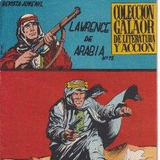 Livros de Banda Desenhada: LAWRENCE DE ARABIA ; NUMERO 13 , EDITORIAL GALAOR. Lote 273995213