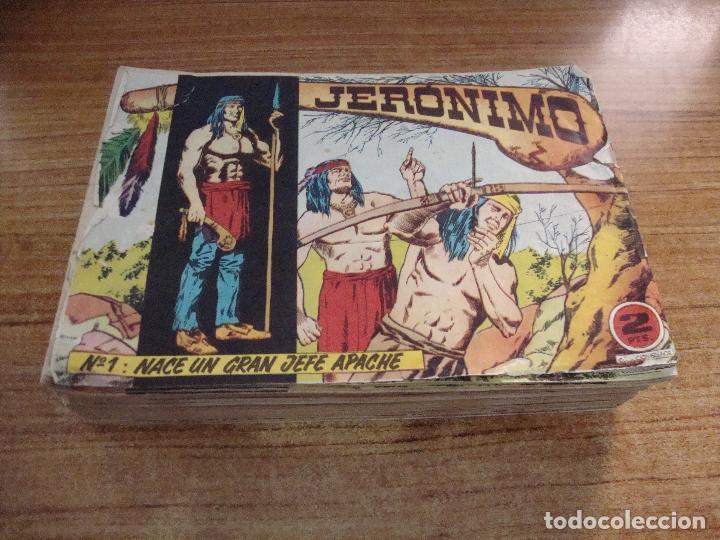 COLECCION COMPLETA 1 - 65 JERONIMO EDICIONES GALAOR (Tebeos y Comics - Galaor)