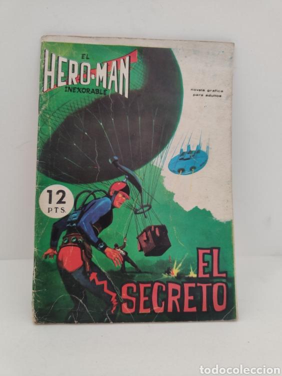 HERO-MAN. 11 - EDITORIAL GALAOR (Tebeos y Comics - Galaor)