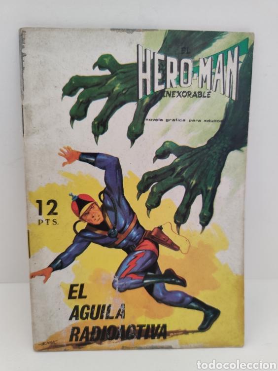 HERO-MAN. 9 - EDITORIAL GALAOR (Tebeos y Comics - Galaor)