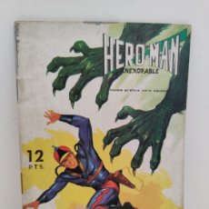 Tebeos: HERO-MAN. 9 - EDITORIAL GALAOR. Lote 275130978