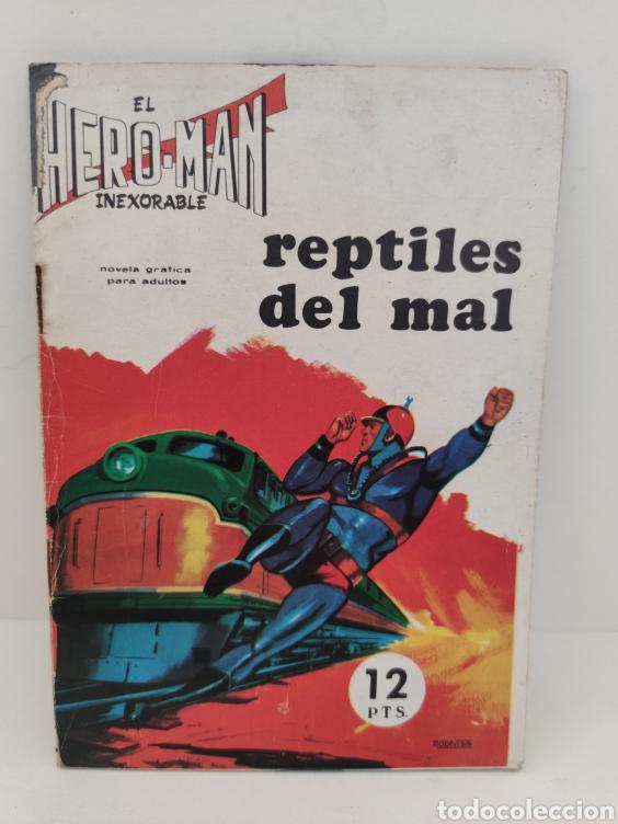 HERO-MAN. 12 - EDITORIAL GALAOR (Tebeos y Comics - Galaor)