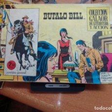 Tebeos: COLECCION GALAOR DE LITERATURA Y ACCION - BUFALO BILL - Nº 12. Lote 278962288
