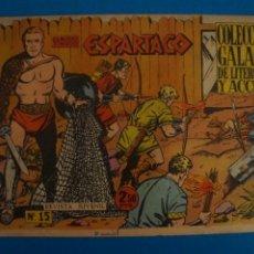 Livros de Banda Desenhada: COMIC DE ESPARTACO Nº 15 AÑO 1964 DE EDICIONES GALAOR LOTE 10 F. Lote 280551718