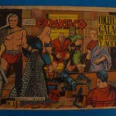 Livros de Banda Desenhada: COMIC DE ESPARTACO Nº 16 AÑO 1964 DE EDICIONES GALAOR LOTE 10 F. Lote 280551798
