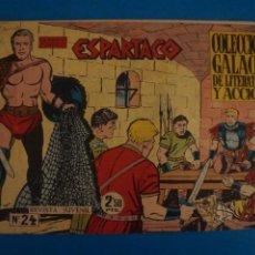 Livros de Banda Desenhada: COMIC DE ESPARTACO Nº 24 AÑO 1964 DE EDICIONES GALAOR LOTE 10 F. Lote 280551873