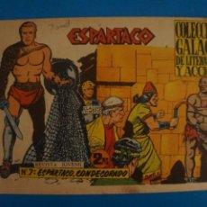 Livros de Banda Desenhada: COMIC DE ESPARTACO Nº 7 AÑO 1964 DE EDICIONES GALAOR LOTE 10 F. Lote 280552138