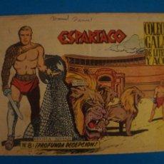Livros de Banda Desenhada: COMIC DE ESPARTACO Nº 8 AÑO 1964 DE EDICIONES GALAOR LOTE 10 F. Lote 280552223