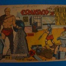 Livros de Banda Desenhada: COMIC DE ESPARTACO Nº 9 AÑO 1964 DE EDICIONES GALAOR LOTE 10 F. Lote 280552293