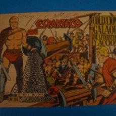 Livros de Banda Desenhada: COMIC DE ESPARTACO Nº 11 AÑO 1964 DE EDICIONES GALAOR LOTE 10 F. Lote 280552548