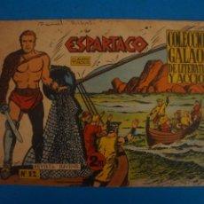 Livros de Banda Desenhada: COMIC DE ESPARTACO Nº 12 AÑO 1964 DE EDICIONES GALAOR LOTE 10 F. Lote 280552623