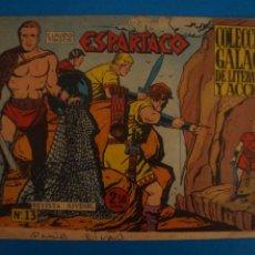 Livros de Banda Desenhada: COMIC DE ESPARTACO Nº 13 AÑO 1964 DE EDICIONES GALAOR LOTE 10 F. Lote 280552688