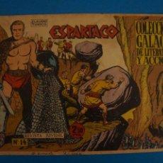 Livros de Banda Desenhada: COMIC DE ESPARTACO Nº 14 AÑO 1964 DE EDICIONES GALAOR LOTE 10 F. Lote 280552768