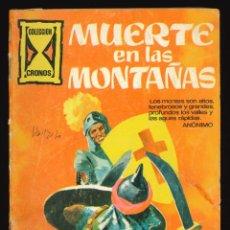 Tebeos: CRONOS - GALAOR / SIN NUMERAR (MUERTE EN LAS MONTAÑAS). Lote 285662803