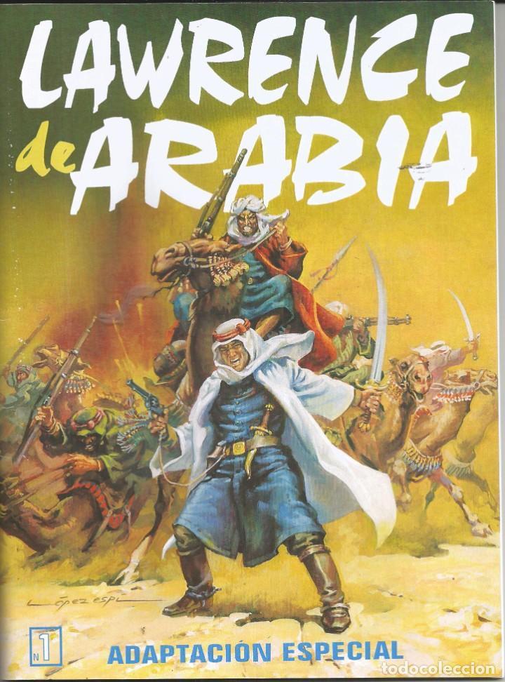 LAWRENCE DE ARABIA. REED. Y ADAPT. AÑOS 2000 GALAOR 5 CUADERNOS. IMPECABLE E INENCONTRABLE L. ESPÍ (Tebeos y Comics - Galaor)