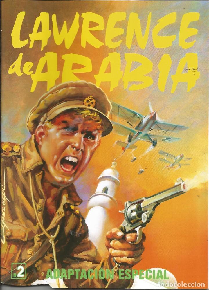 Tebeos: Lawrence de Arabia. REED. Y ADAPT. Años 2000 Galaor 5 cuadernos. Impecable e inencontrable L. Espí - Foto 2 - 286590308