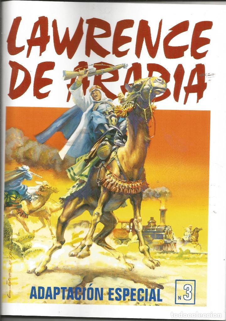 Tebeos: Lawrence de Arabia. REED. Y ADAPT. Años 2000 Galaor 5 cuadernos. Impecable e inencontrable L. Espí - Foto 3 - 286590308