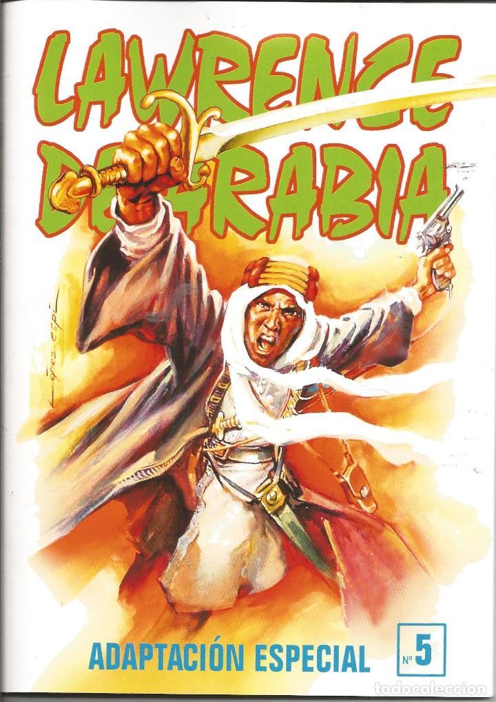 Tebeos: Lawrence de Arabia. REED. Y ADAPT. Años 2000 Galaor 5 cuadernos. Impecable e inencontrable L. Espí - Foto 5 - 286590308