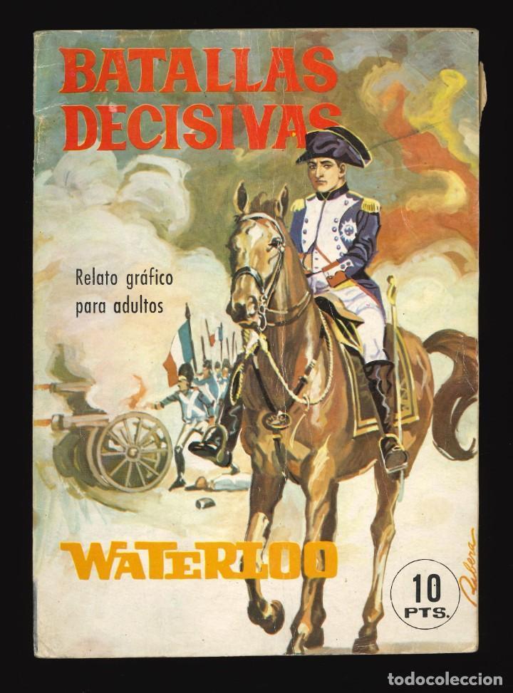 BATALLAS DECISIVAS - GALAOR / SIN NUMERAR (WATERLOO) (Tebeos y Comics - Galaor)