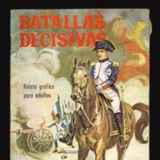 Tebeos: BATALLAS DECISIVAS - GALAOR / SIN NUMERAR (WATERLOO). Lote 287003298