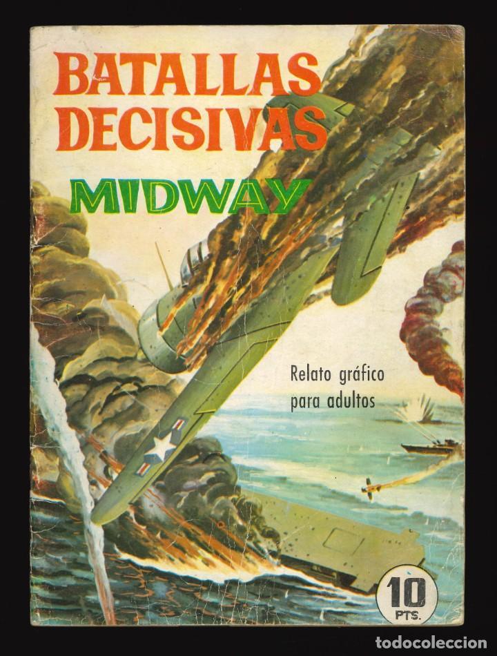 BATALLAS DECISIVAS - GALAOR / SIN NUMERAR (MIDWAY) (Tebeos y Comics - Galaor)