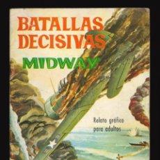 Tebeos: BATALLAS DECISIVAS - GALAOR / SIN NUMERAR (MIDWAY). Lote 287003678