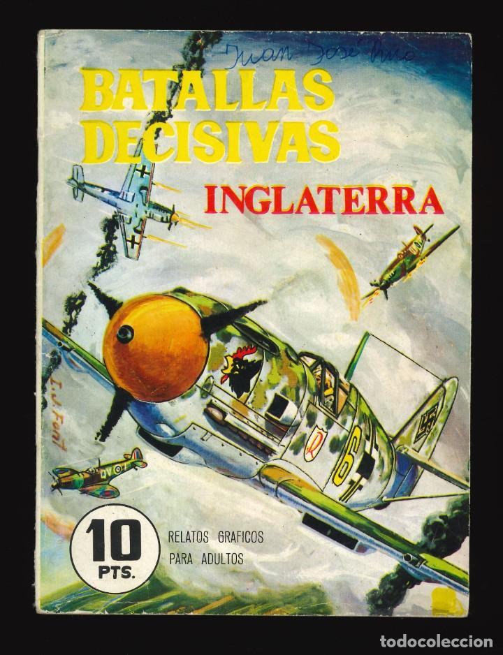 BATALLAS DECISIVAS - GALAOR / SIN NUMERAR (INGLATERRA) (Tebeos y Comics - Galaor)