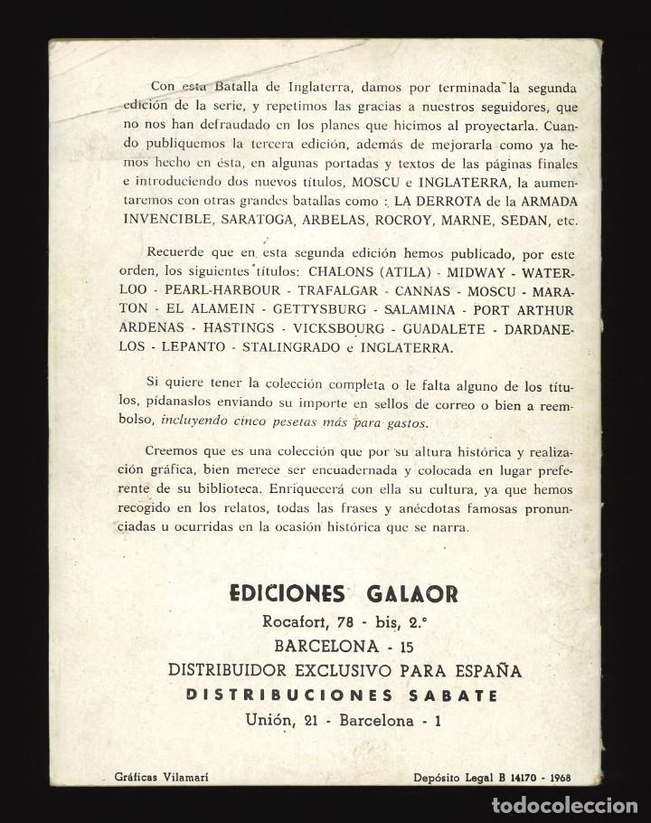 Tebeos: BATALLAS DECISIVAS - GALAOR / SIN NUMERAR (INGLATERRA) - Foto 2 - 287006153