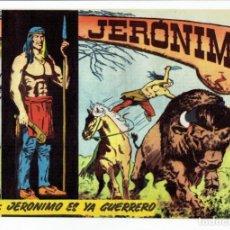 Tebeos: JERÓNIMO Nº 2 - JERÓNIMO YA ES GUERRERO - GALAOR 1964. Lote 287029923