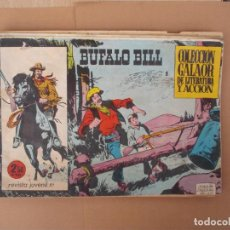 Tebeos: BUFALO BILL,GALAOR Nº 1- 3- 5- 6- 9 Y 12. Lote 287685468