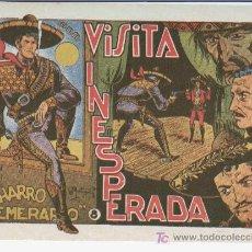 Tebeos: EL CHARRO TEMERARIO Nº 8 MUY NUEVO, EDI. GRAFIDEA 1953, ORIGINAL, POR MATIAS ALONSO. Lote 24828057
