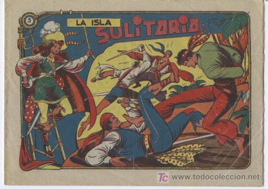 LA CAPITANA Nº 5, EDI. GRAFIDEA 1955, PERFECTO, ORIGINAL , POR MATIAS ALONSO (Tebeos y Comics - Grafidea - El Charro Temerario)