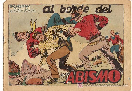 CHISPITA 8ª AVENTURA Nº 17, EDI. GRAFIDEA 1956, ORIGINAL, POR BIOSCA (Tebeos y Comics - Grafidea - Chispita)