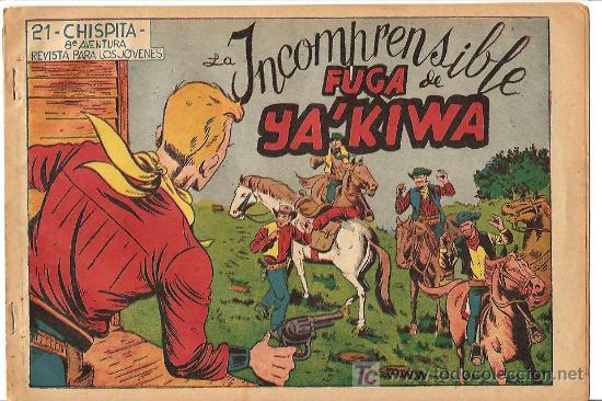 CHISPITA 8ª AVENTURA Nº 21, EDI. GRAFIDEA 1956, ORIGINAL, POR A. BIOSCA (Tebeos y Comics - Grafidea - Chispita)