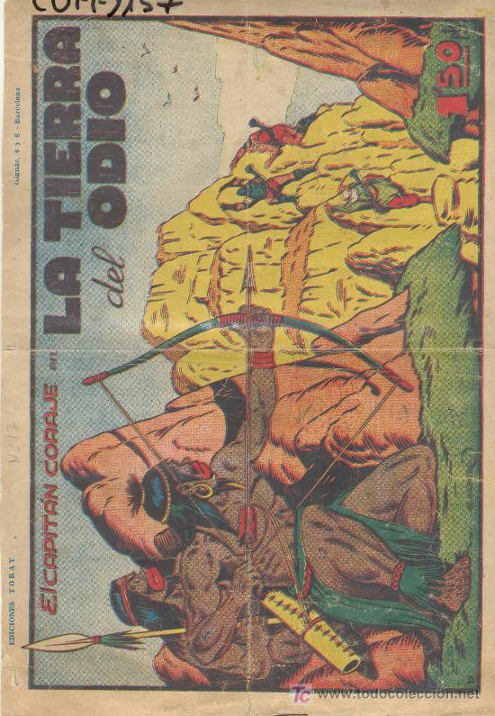 (COM-1157)COMIC EL CAPITAN CORAJE-LA TIERRA DEL ODIO Nº17 (Tebeos y Comics - Grafidea - Otros)