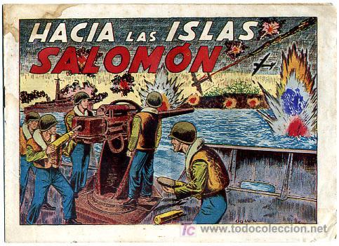 SARGENTO MACAI , Nº 2 ,HACIA LAS ISLAS SALOMON , GRAFIDEA , T1124 (Tebeos y Comics - Grafidea - Otros)