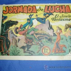 Tebeos: EL JINETE FANTASMA Nº 12. ORIGINAL. EDITORIAL GRAFIDEA 1947.. Lote 9423045