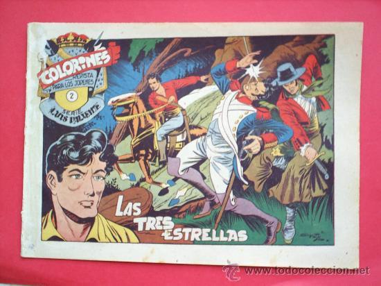 Tebeos: LUIS VALIENTE colorines grafidea 24 NUMEROS , MATIAS ALONSO , ORIGINAL COMPLETS 1958 - Foto 4 - 27413882