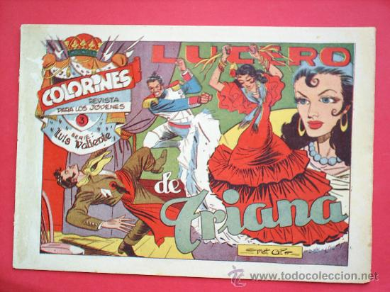 Tebeos: LUIS VALIENTE colorines grafidea 24 NUMEROS , MATIAS ALONSO , ORIGINAL COMPLETS 1958 - Foto 5 - 27413882