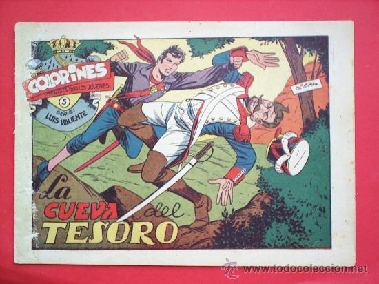 Tebeos: LUIS VALIENTE colorines grafidea 24 NUMEROS , MATIAS ALONSO , ORIGINAL COMPLETS 1958 - Foto 7 - 27413882