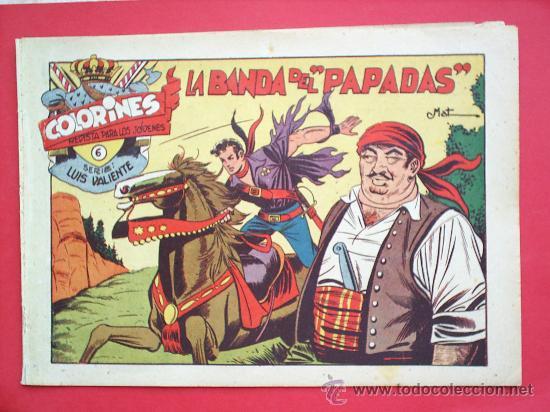 Tebeos: LUIS VALIENTE colorines grafidea 24 NUMEROS , MATIAS ALONSO , ORIGINAL COMPLETS 1958 - Foto 8 - 27413882
