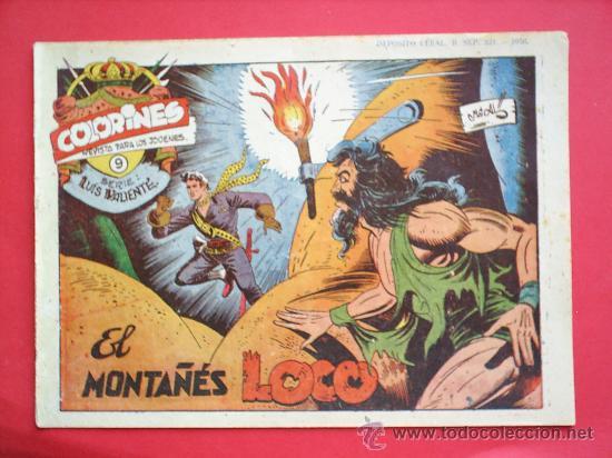 Tebeos: LUIS VALIENTE colorines grafidea 24 NUMEROS , MATIAS ALONSO , ORIGINAL COMPLETS 1958 - Foto 11 - 27413882