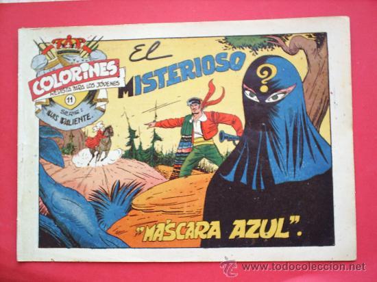 Tebeos: LUIS VALIENTE colorines grafidea 24 NUMEROS , MATIAS ALONSO , ORIGINAL COMPLETS 1958 - Foto 13 - 27413882