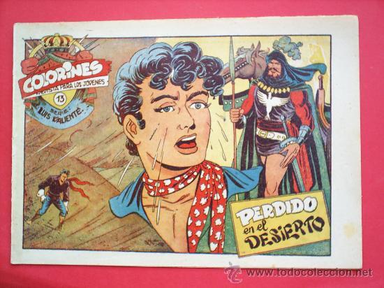 Tebeos: LUIS VALIENTE colorines grafidea 24 NUMEROS , MATIAS ALONSO , ORIGINAL COMPLETS 1958 - Foto 15 - 27413882
